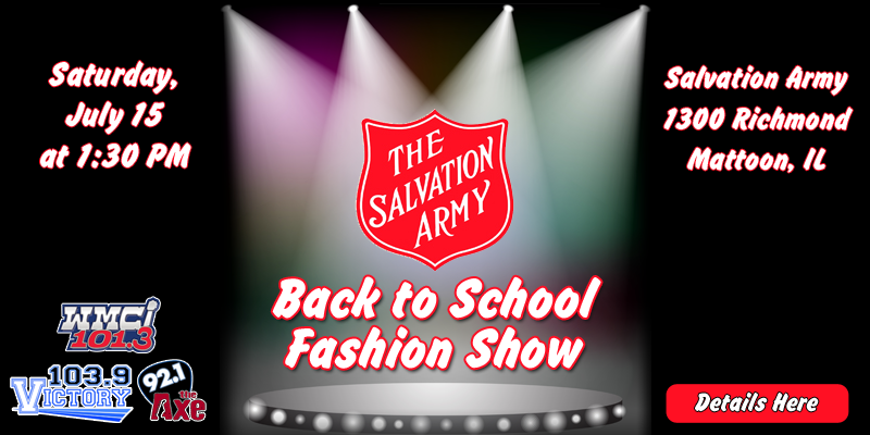 Salvation Army Back to School Fashion Show