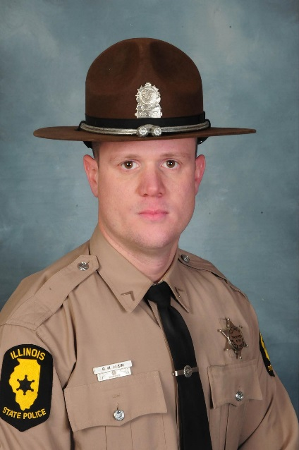 Illinois State Police Ask for the Public's Assistance in honoring their FALLEN BROTHER, Trooper Ryan Albin #5718