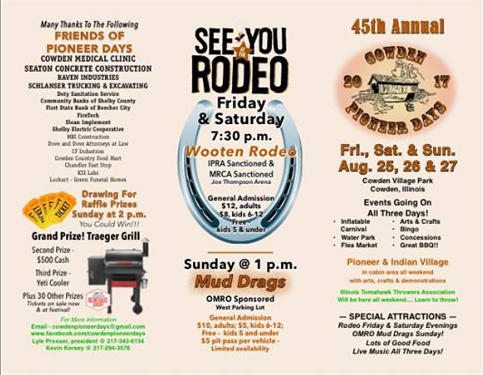 45th Annual Cowden Pioneer Days