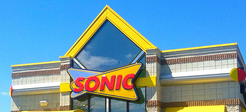 Sonic Notified Of Unusual Credit Card Activity