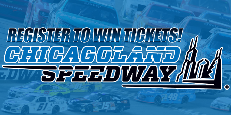 Chicagoland Speedway Ticket Giveaway