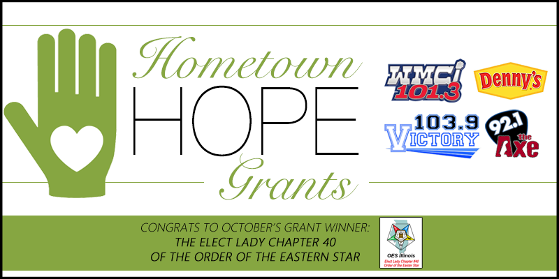 Hometown HOPE Grant Winner - October