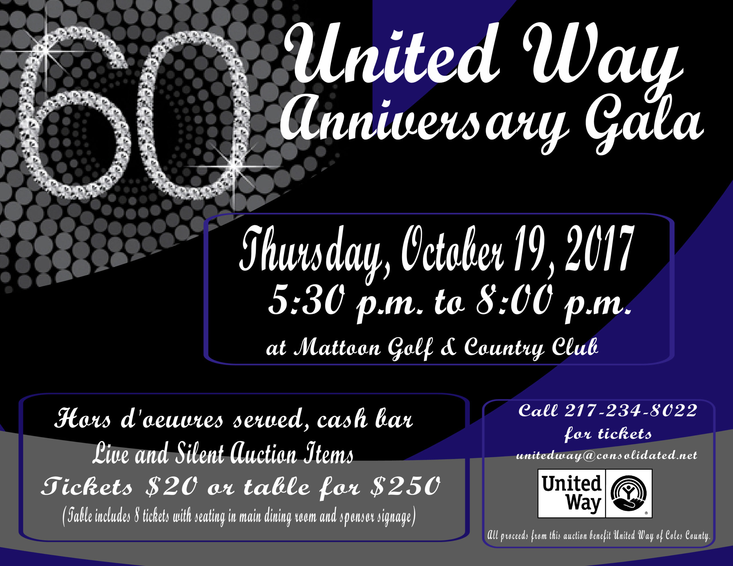 United Way of Coles County 60th Anniversary Gala