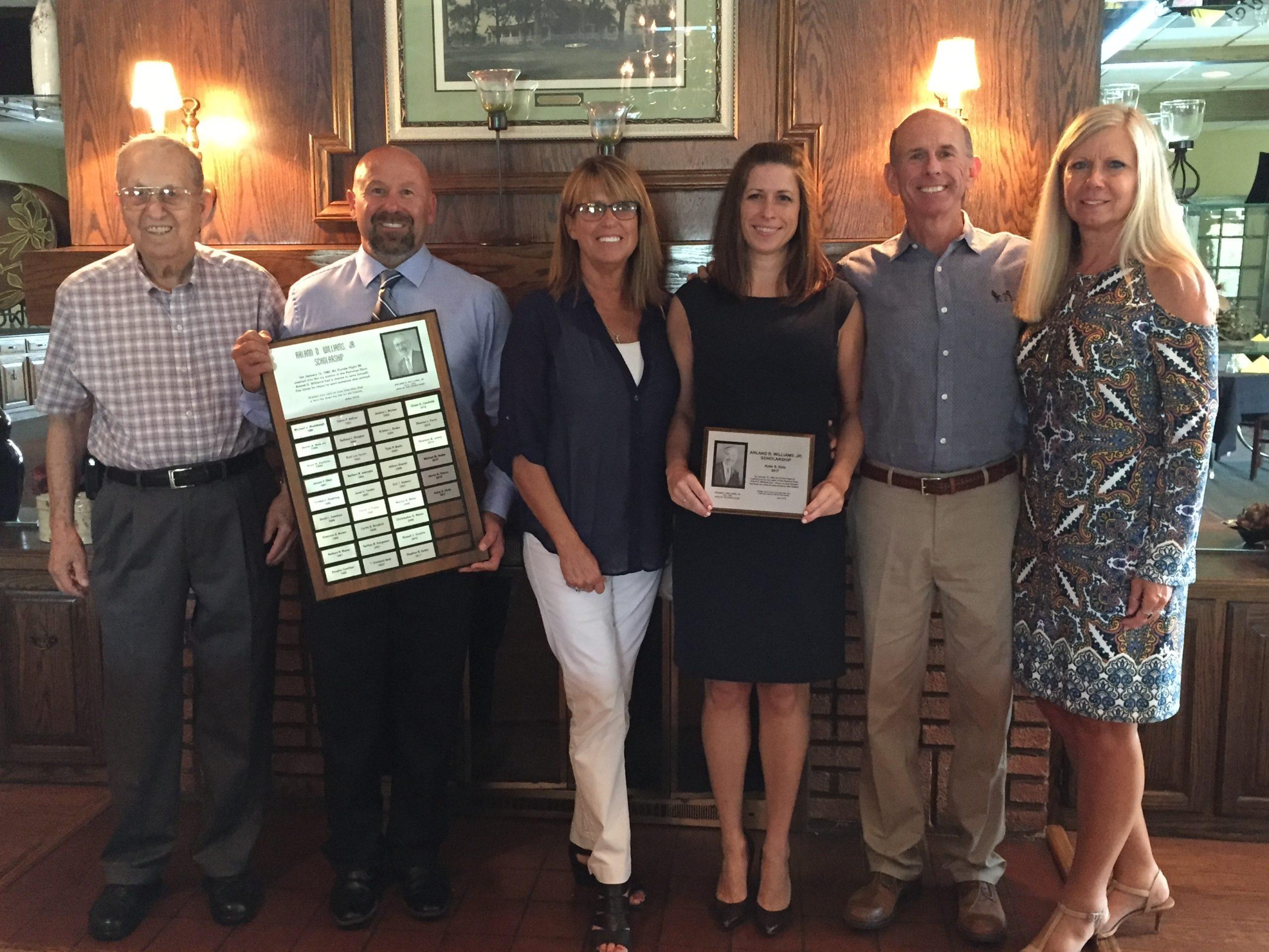 Arland D. Williams Jr. Scholarship awarded to Katie Kirts
