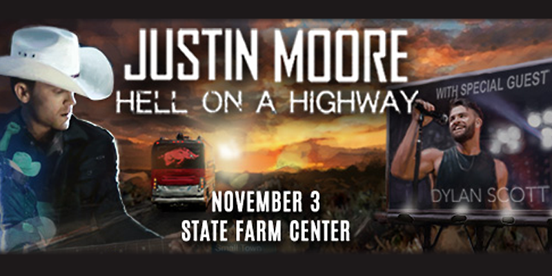 Justin Moore Performing at State Farm Center