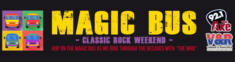 Magic Bus - Classic Rock Weekend