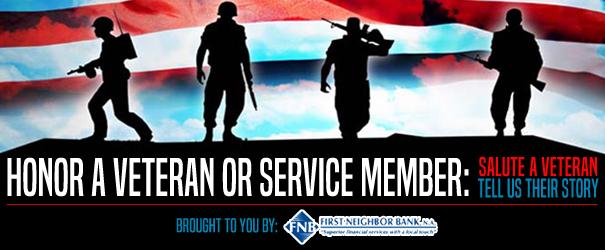 Say Thank You to a Veteran