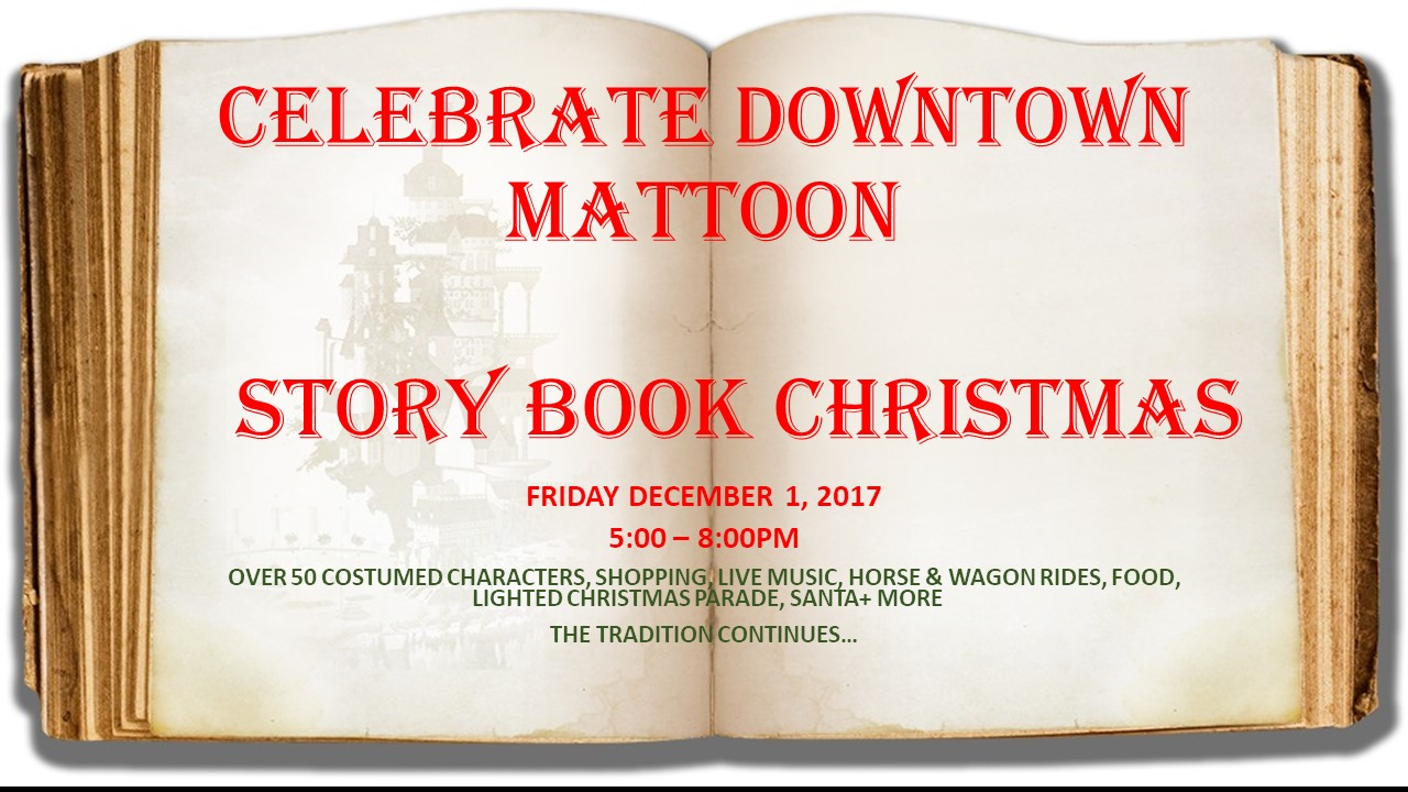 Celebrate Downtown Mattoon: Christmas is this Friday (December 1st)