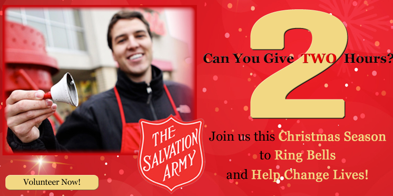 Salvation Army Looking for Volunteers