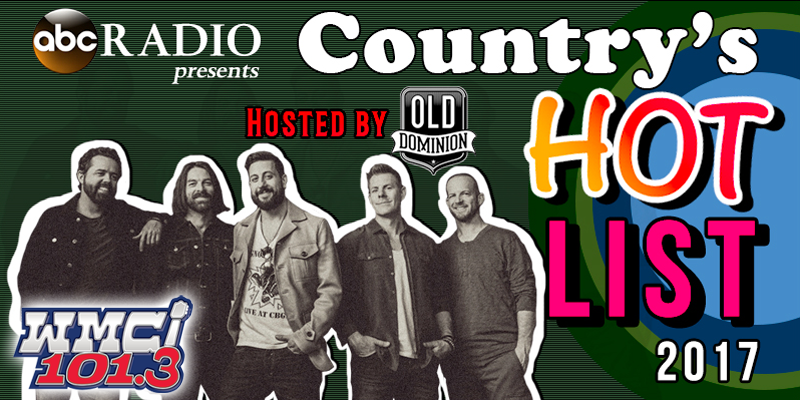 Country's Hot List 2017 Hosted by Old Dominion