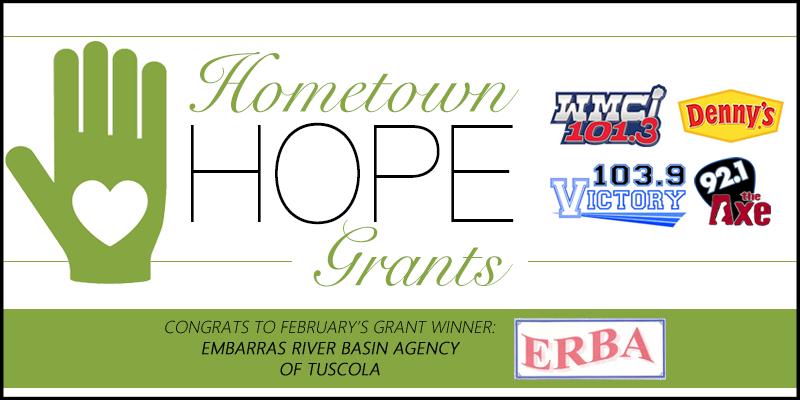 Hometown HOPE Grant - February Winner