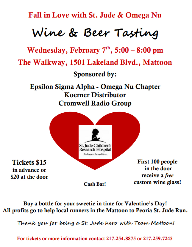 Annual Omega Nu Wine and Beer Tasting