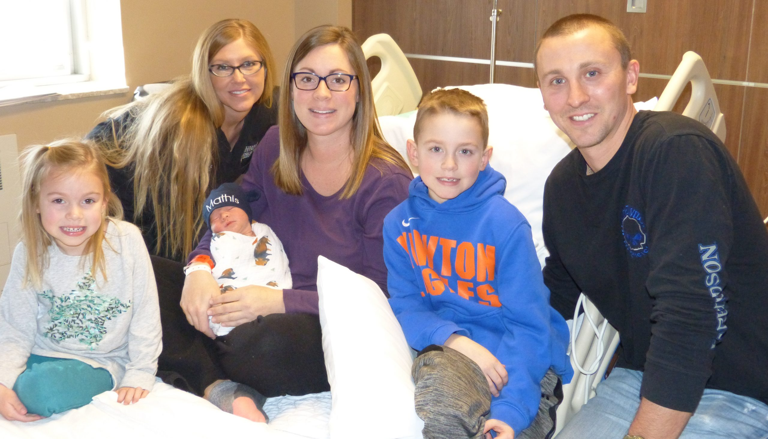 New Year's Baby of 2018 born at  HSHS St. Anthony's Memorial Hospital