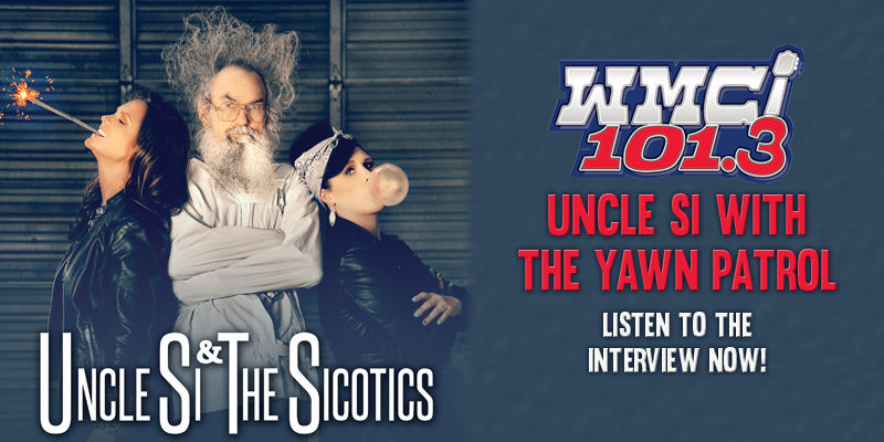 Uncle Si on The Yawn Patrol!