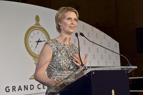 Actress Cynthia Nixon Announces Run For NY Governor