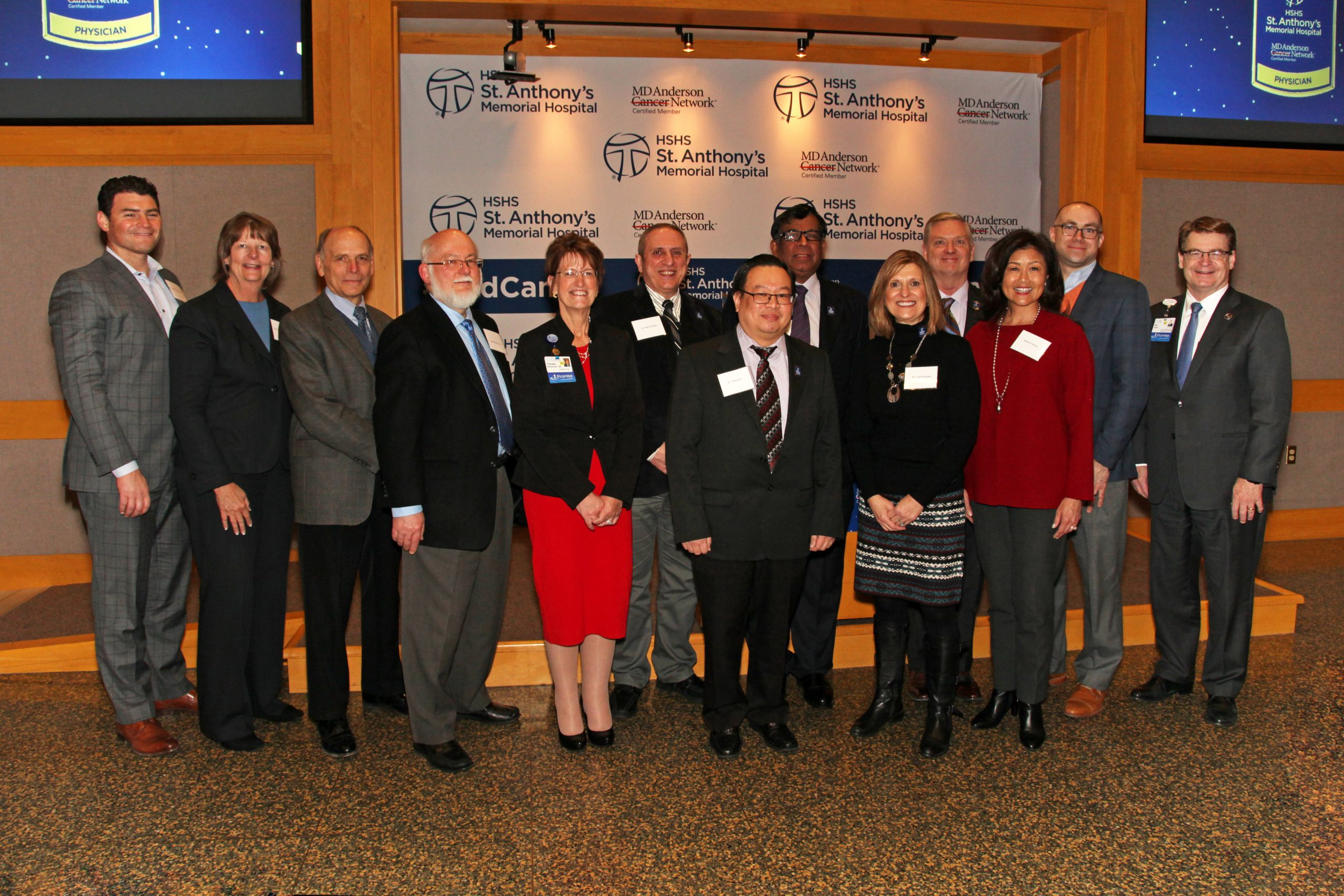 HSHS St. Anthony's Memorial Hospital becomes Certified Member of MD Anderson Cancer Network®