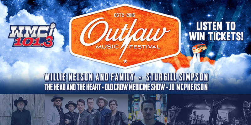 Listen to Win Outlaw Music Festival Tickets!