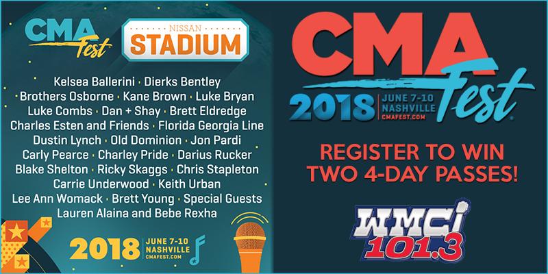 Register to Win CMA Fest Passes!