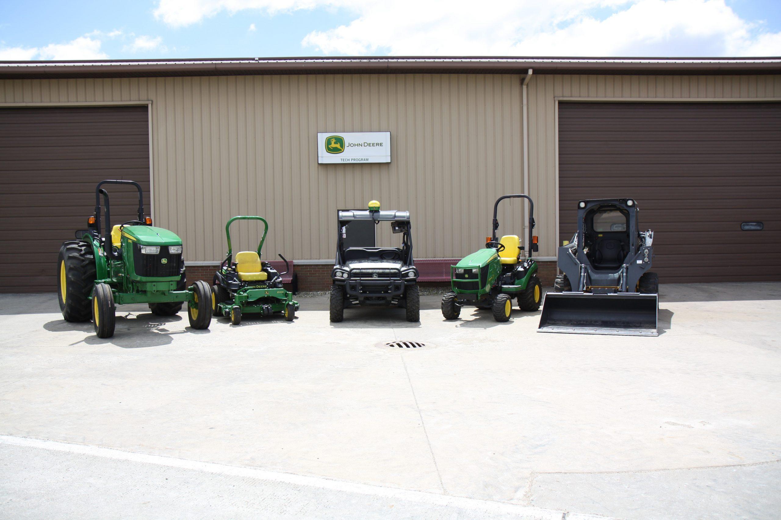 John Deere donates equipment to Lake Land College.