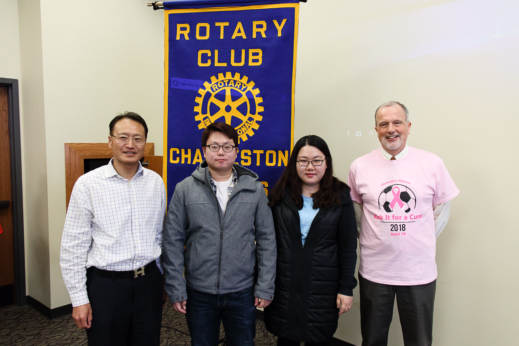 Lake Land College international students share experiences studying abroad with local rotary club