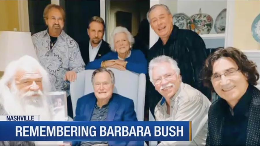 The Oak Ridge Boys share reflections on their long history with the Bush family