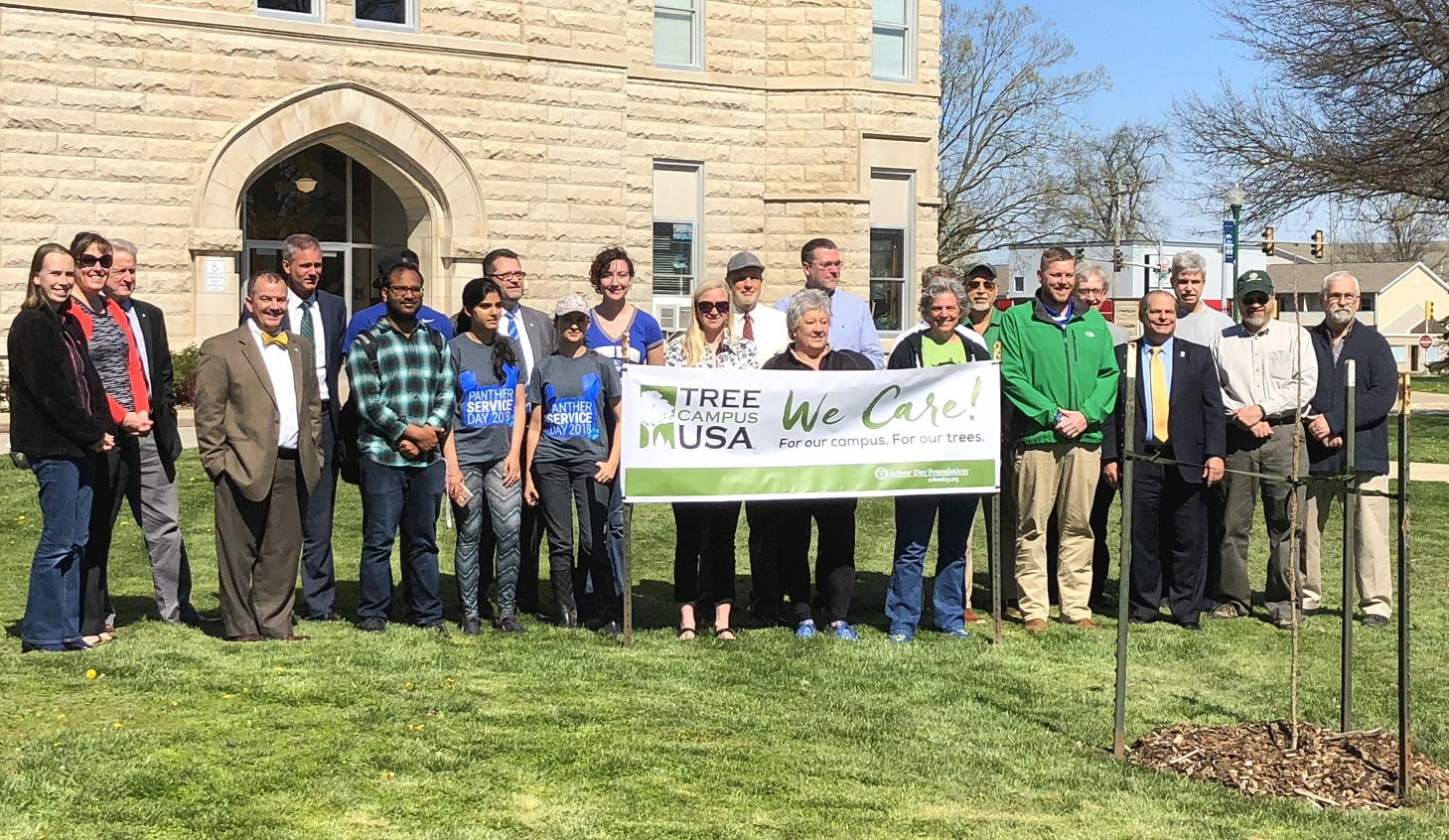 EIU earns Tree Campus USA status