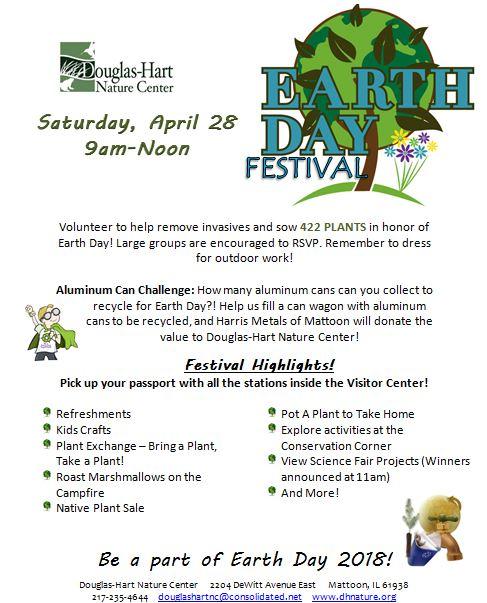 Earth Day Festival at Douglas-Hart Nature Center