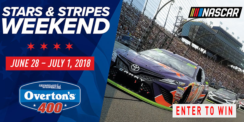 Stars and Stripes NASCAR Weekend - Register to Win Tickets!