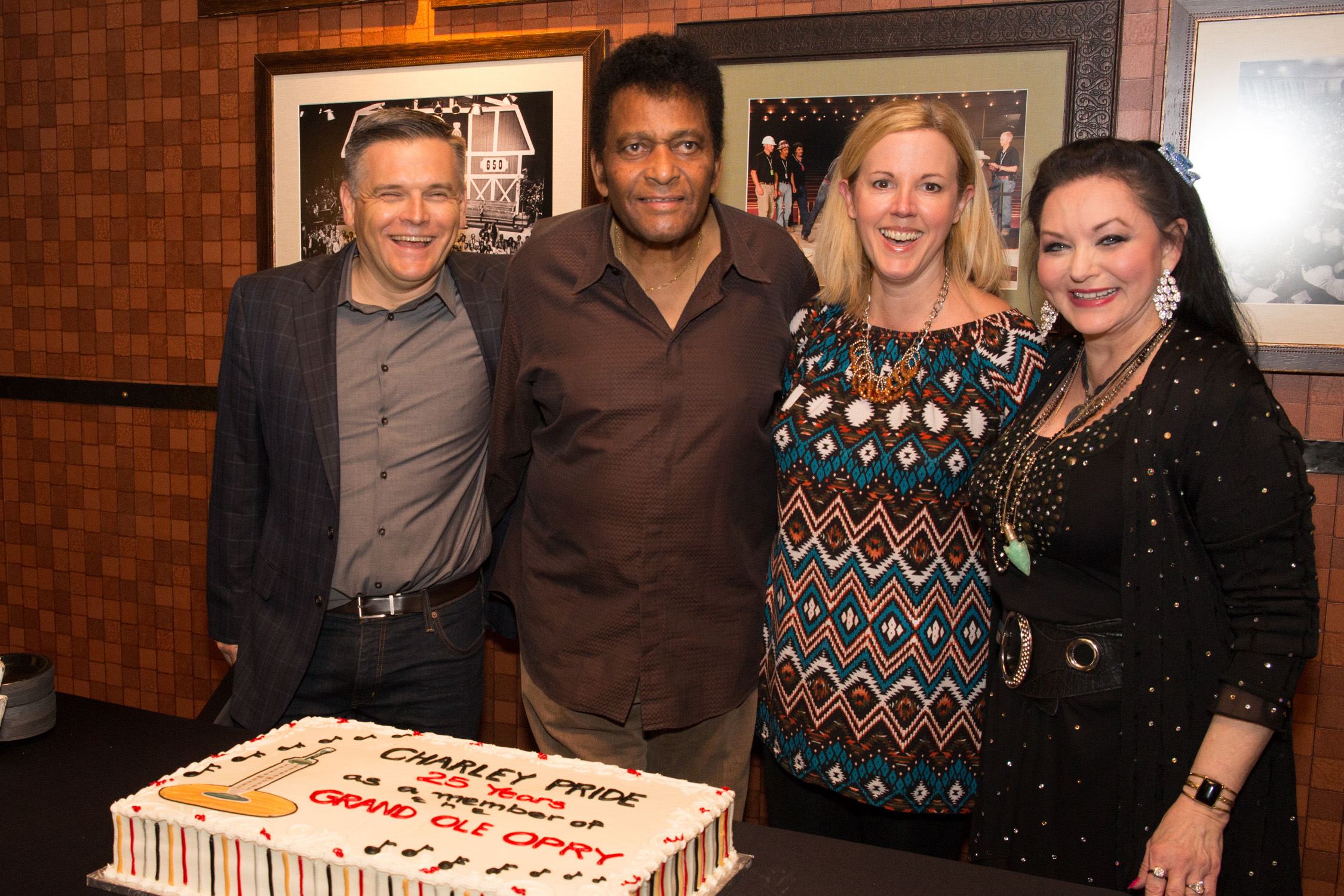 Charley Pride Celebrates 25th Opry Member Anniversary