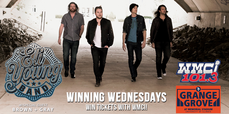 Winning Wednesdays - Eli Young Band Tickets