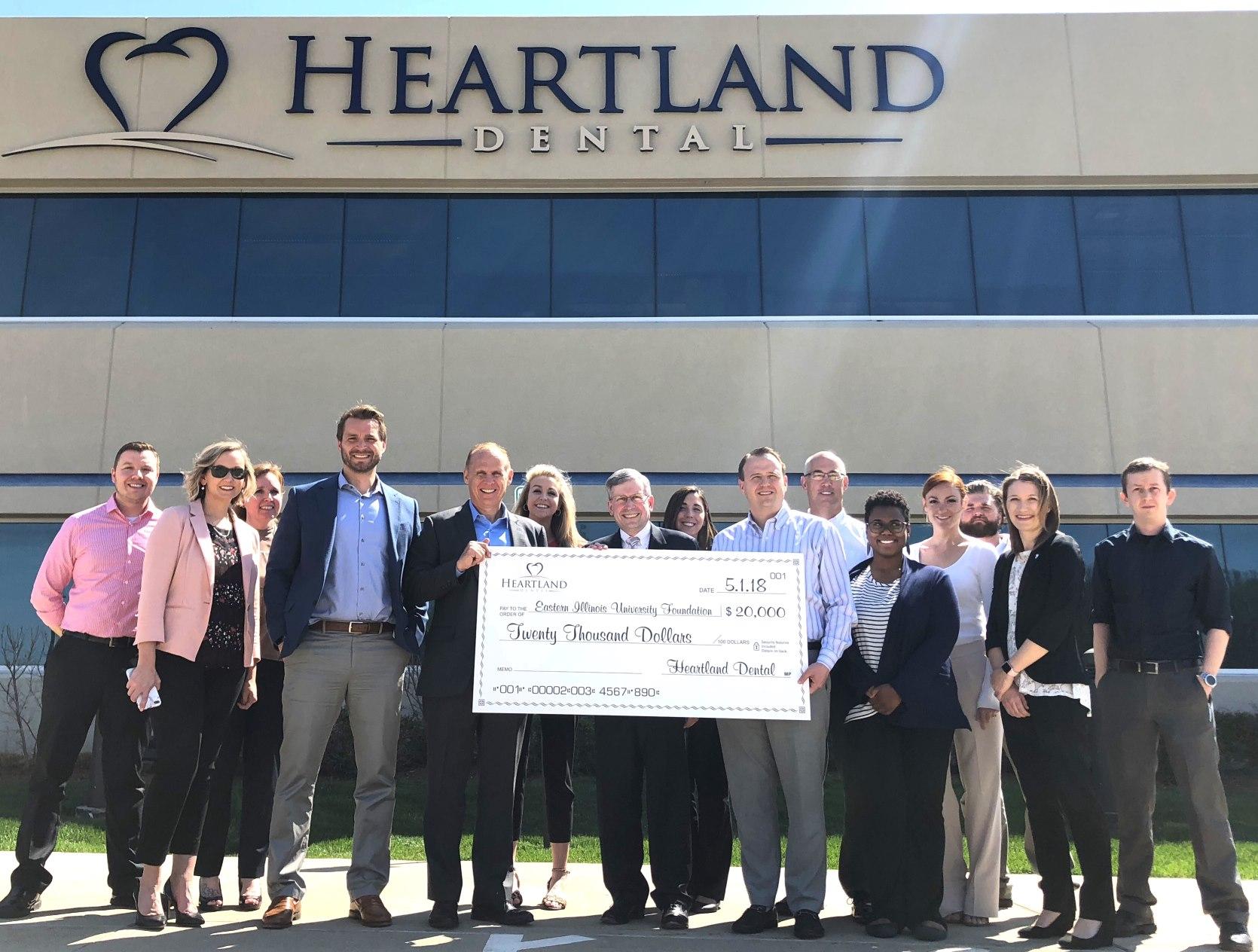 Heartland Dental awards EIU $20K for regional student scholarships