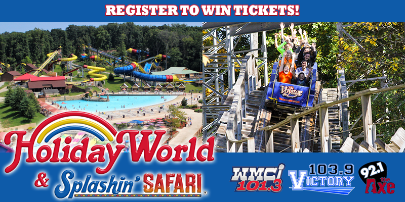 Register to Win Holiday World Tickets