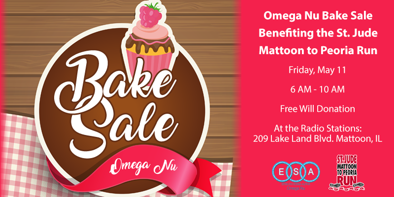 Annual Omega Nu Bake Sale