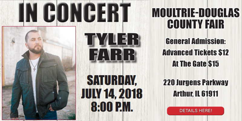 Feature: http://www.myradiolink.com/2018/05/29/tyler-farr-performing-at-moultrie-douglas-county-fair/