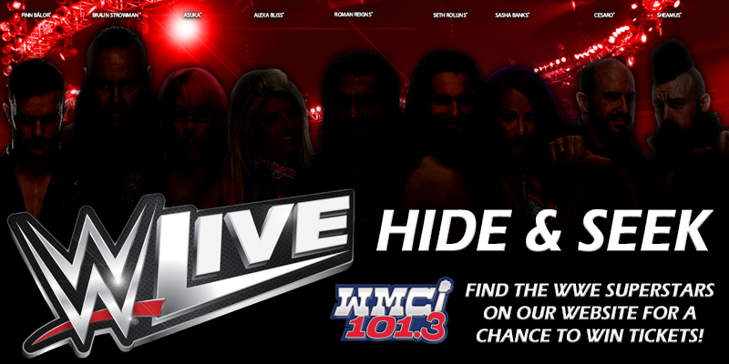 WWE Hide & Seek on MyRadioLink