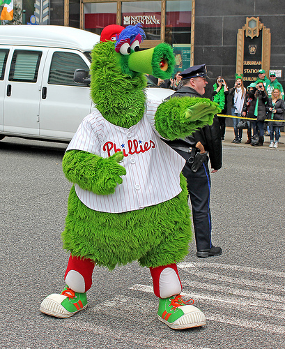 Phillies Fan Injured By Flying Hot Dog