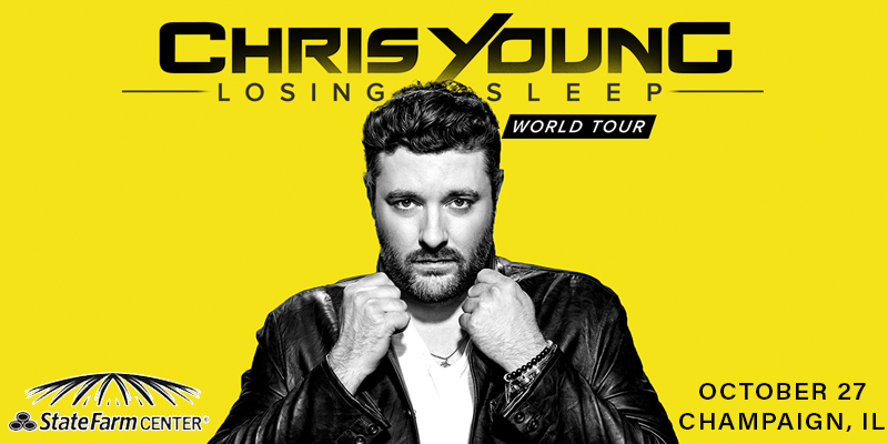 Chris Young to Perform at State Farm Center