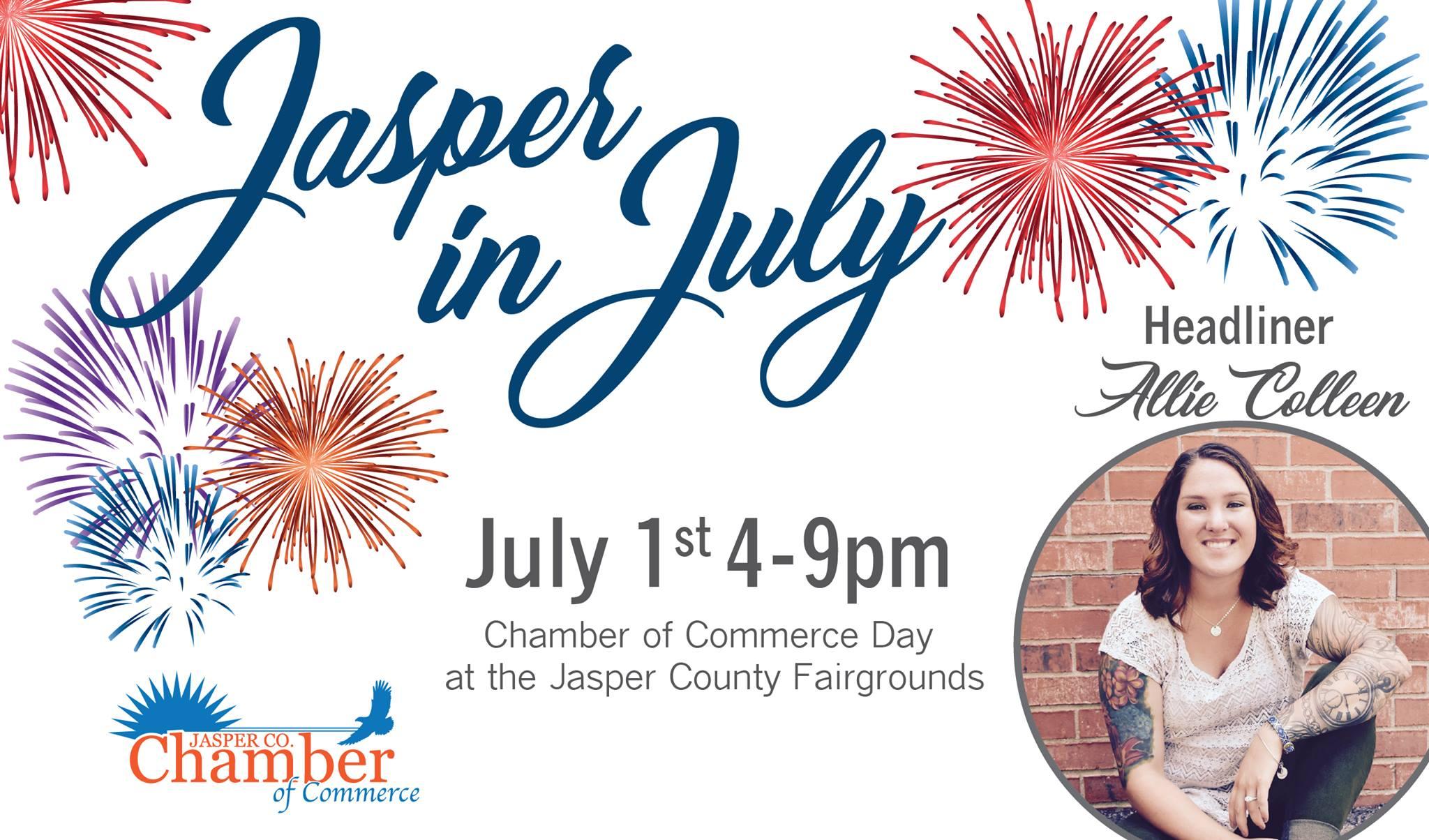 Jasper in July