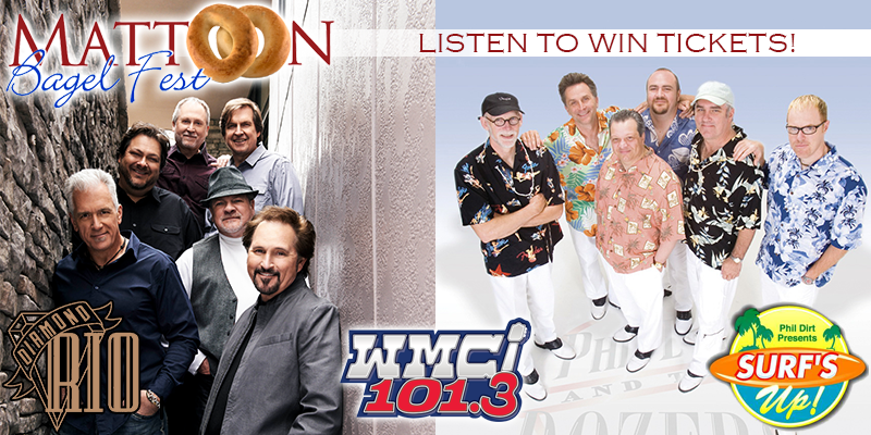 Listen to Win Tickets for Mattoon Bagelfest