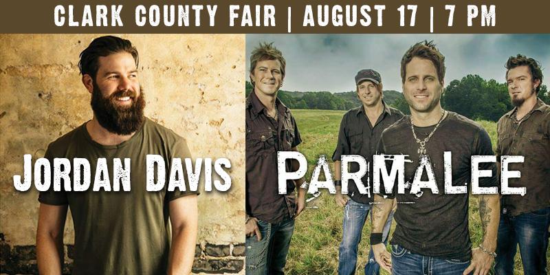 Clark County Fair: Parmalee & Jordan Davis