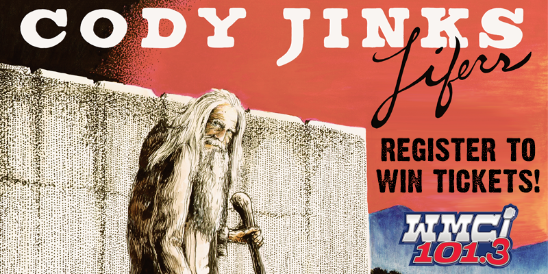 Register to Win Cody Jinks Tickets