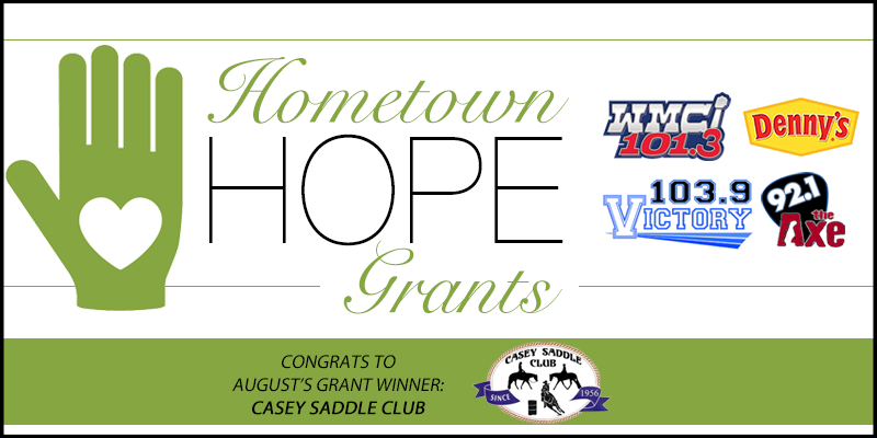 Hometown HOPE Grant Winner - August
