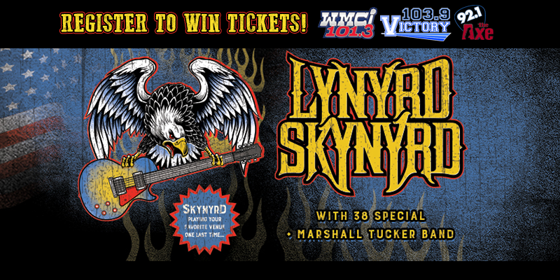 Register to Win Lynyrd Skynyrd Tickets