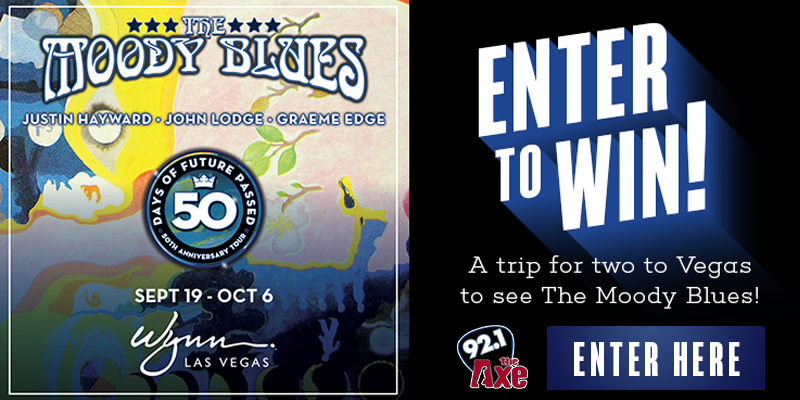 The Moody Blues in Vegas Giveaway