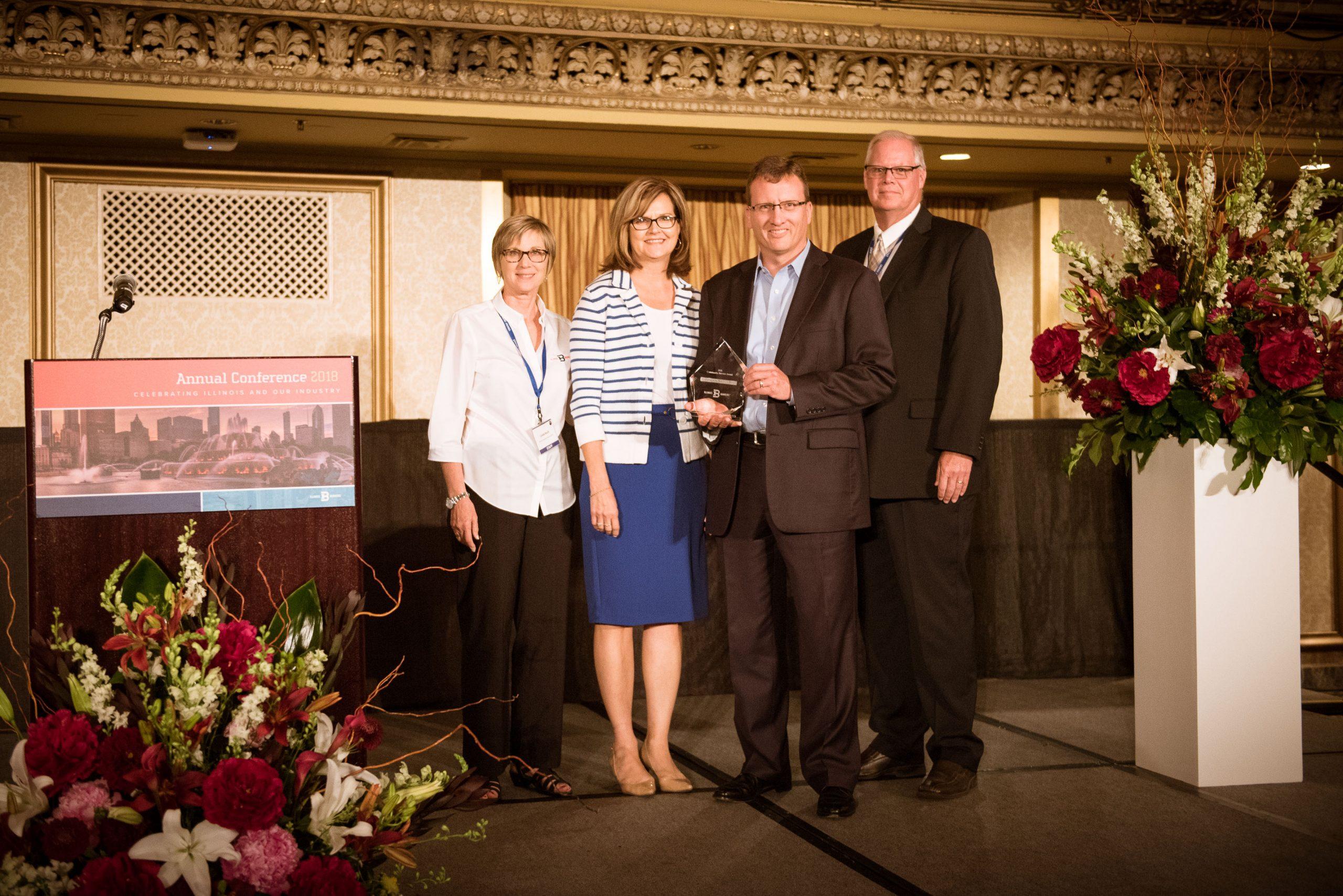 2018 Illinois Bank Community Service Awards