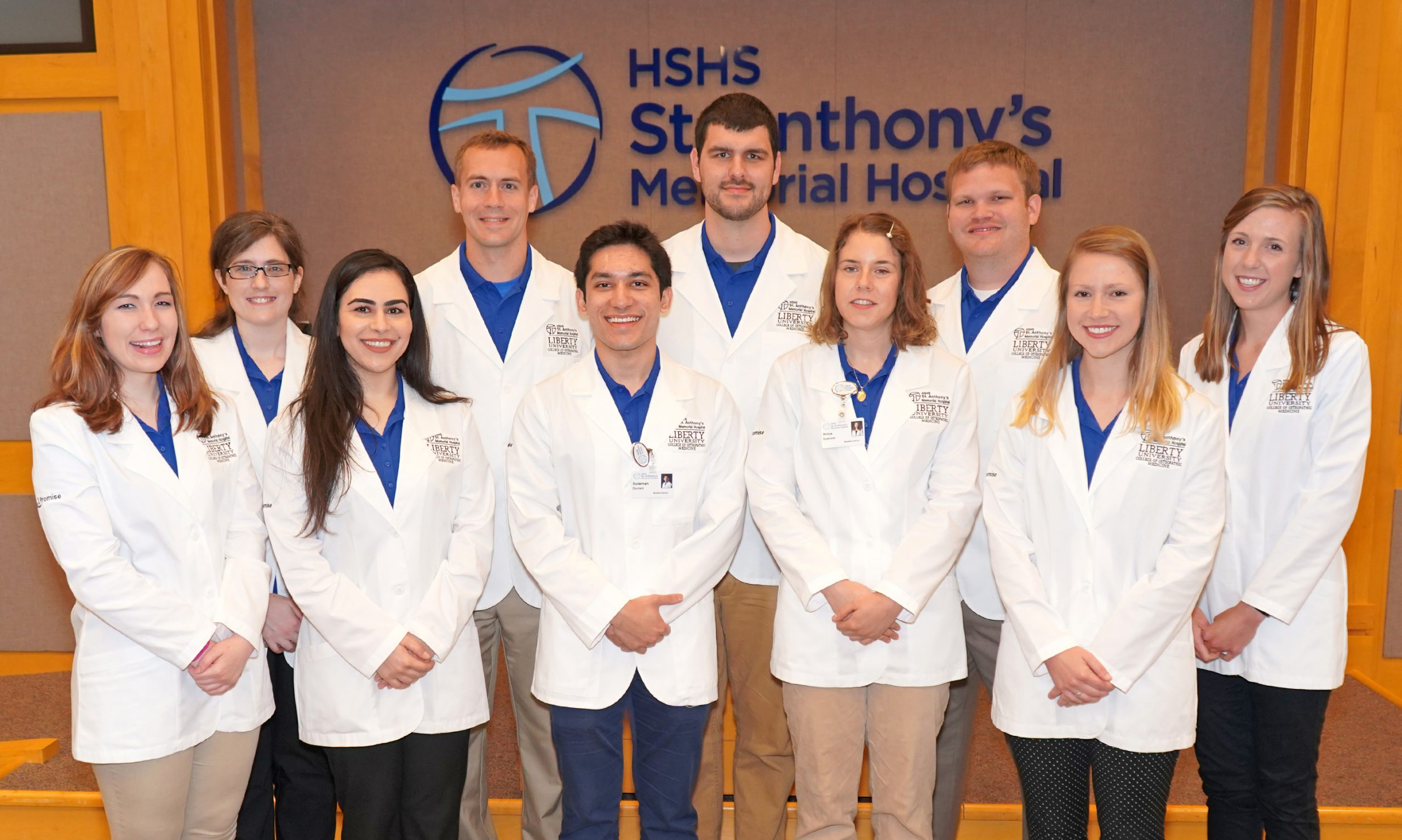 HSHS St. Anthony's Memorial Hospital welcomes 2018-19 third-year medical students