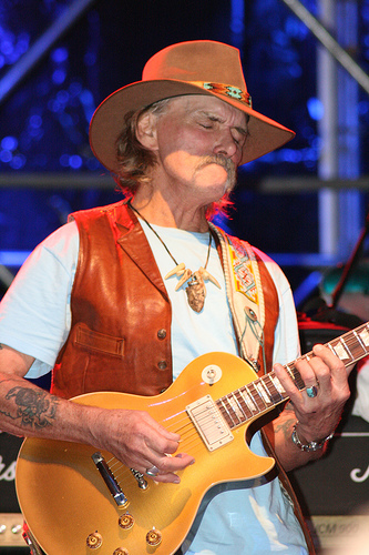 Allman Brothers Guitarist Dickey Betts Hospitalized After Fall