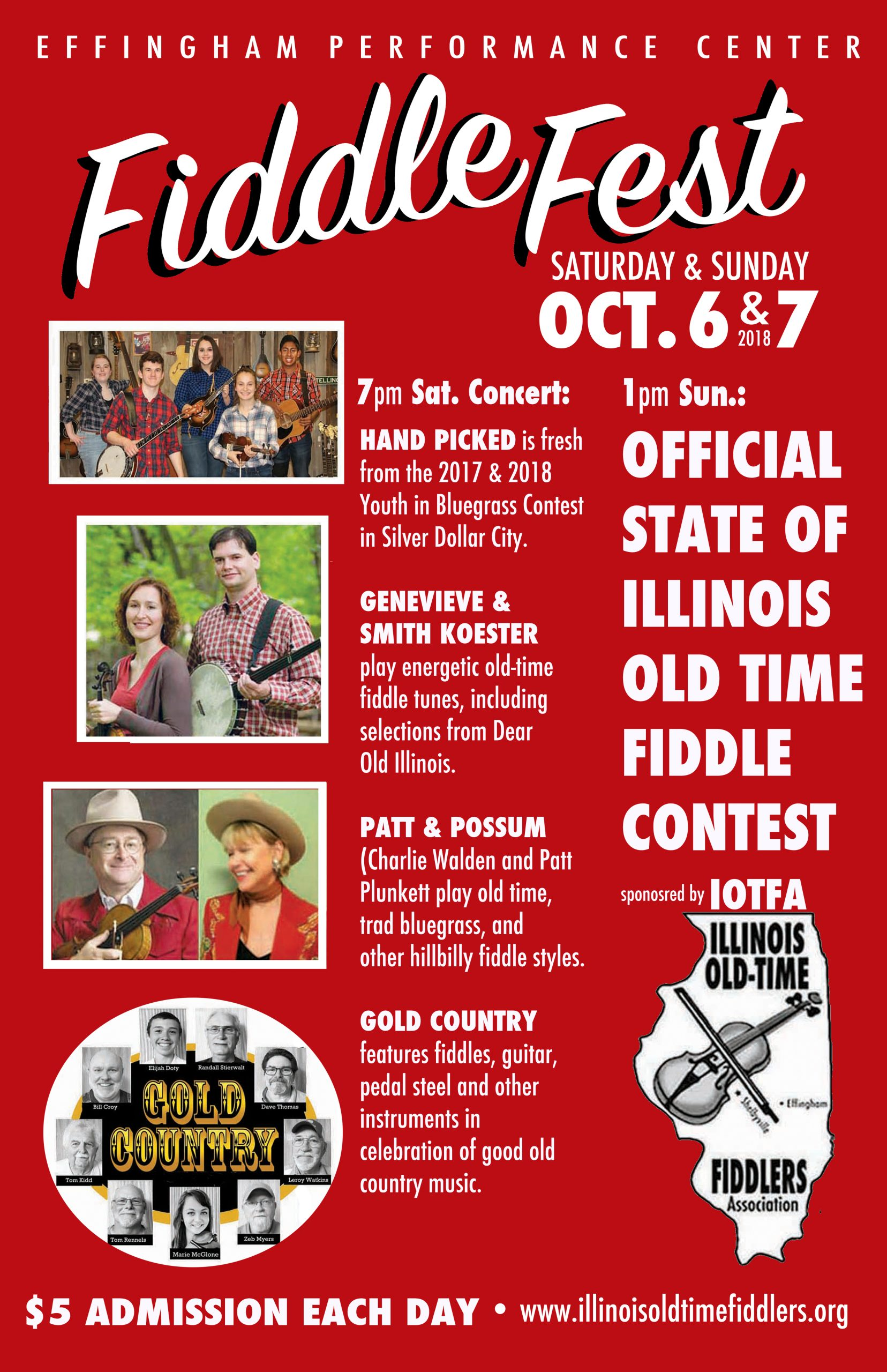 Illinois Old Time Fiddle Contest