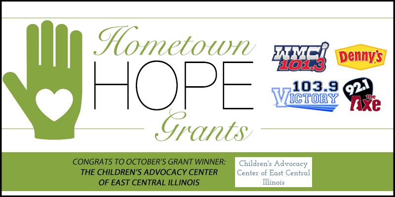 October Hometown HOPE Grant Winner
