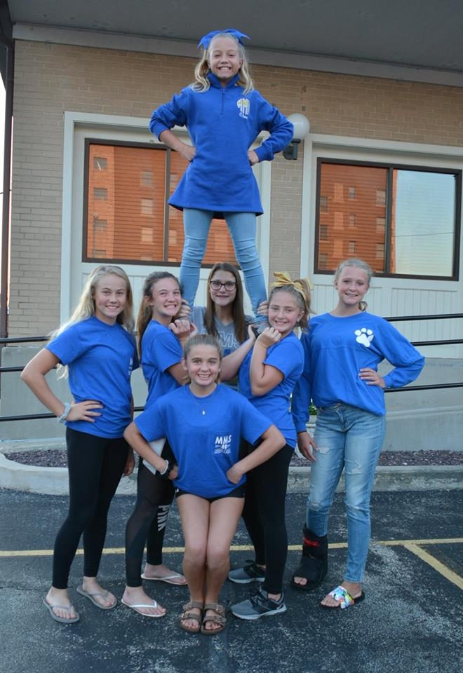 Local Middle School Cheerleaders Invited to Perform at the Citrus Bowl in Orlando